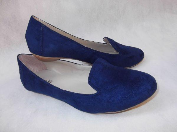 0c36049171 Slipper azul marinho (Ref. 465) - Sandra Rê sapatilhas